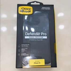 iphone xr otterbox defender pro screenless black